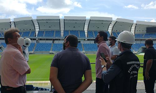 Estádios são fiscalizados pelo Crea-RN e parceiros